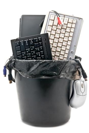 Broken Computer Accessories