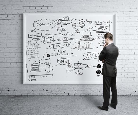 Busy Whiteboard