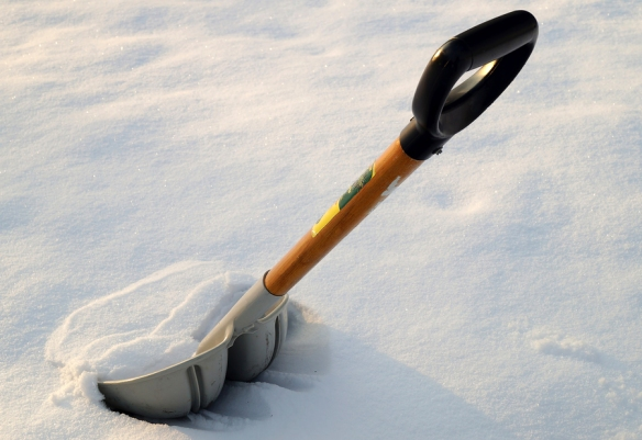 Snow Shoveling Guide Image