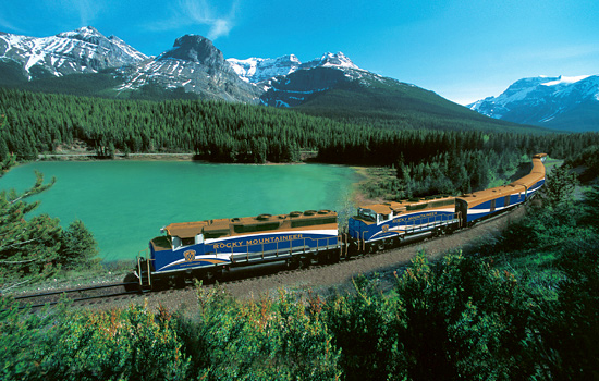RailroadJourneyCanadianRockies