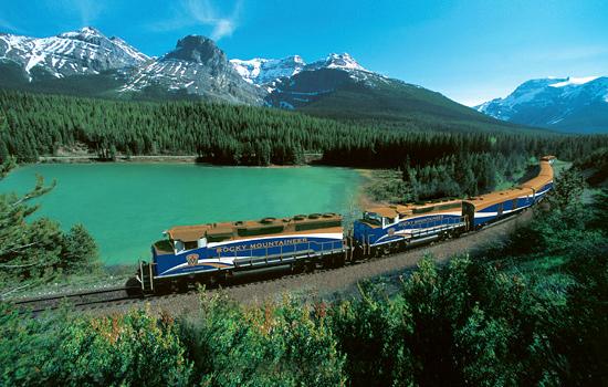 RailroadJourneyCanadianRockies