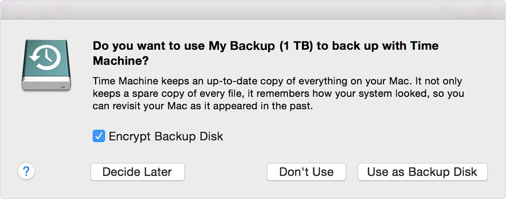 Mac Backup Screenshot