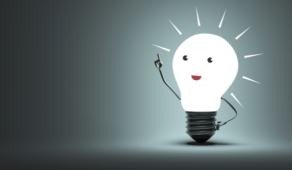 How to get creative juices flowing light bulb