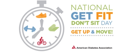 National Get Fit Don't Sit Day