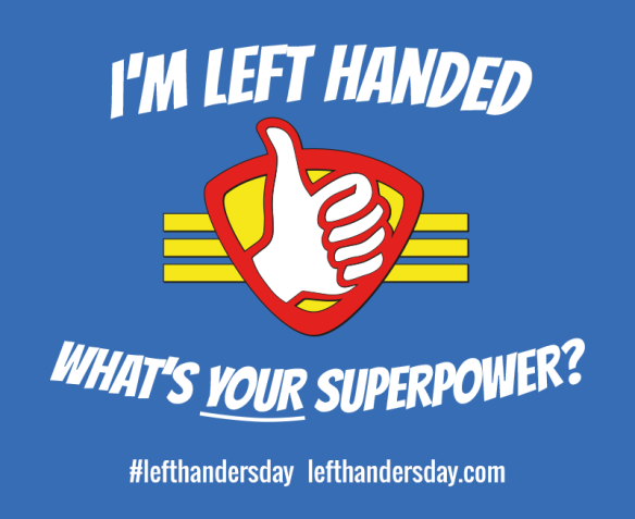 Happy #LeftHandersDay