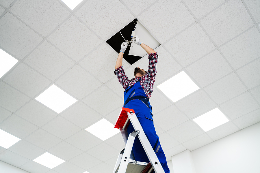 replace office light